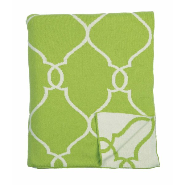 Lattice 100% Cotton Throw by Darzzi